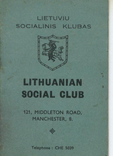 1954 Members' Rule Book