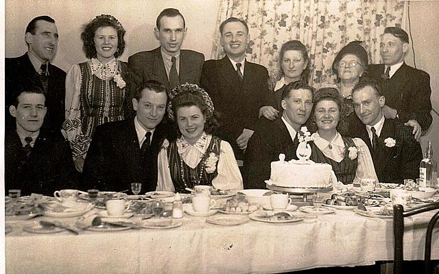1950 Manchester-Two weddings